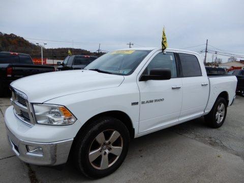 Bright White 2012 Dodge Ram 1500 SLT Crew Cab 4x4