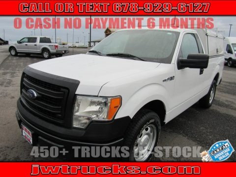Oxford White 2014 Ford F150 XL Regular Cab