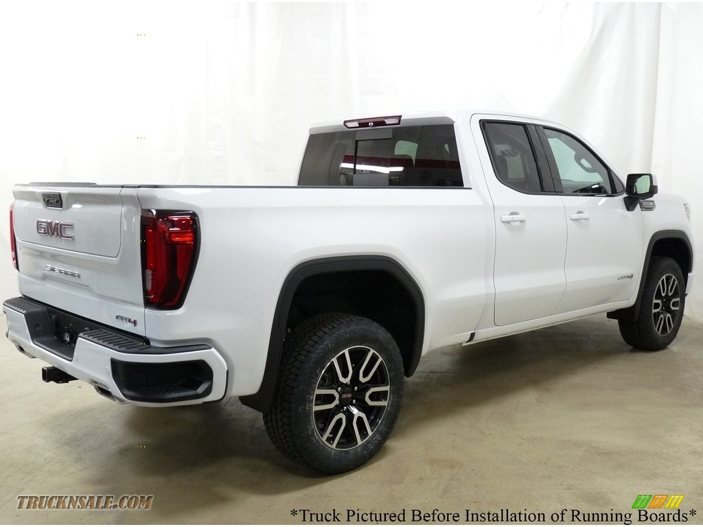 2019 Sierra 1500 AT4 Double Cab 4WD - Summit White / Jet Black photo #2