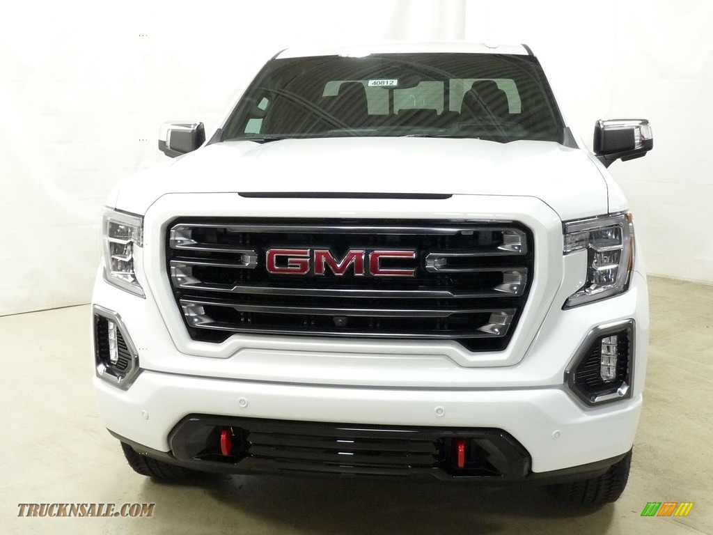 2019 Sierra 1500 AT4 Double Cab 4WD - Summit White / Jet Black photo #4