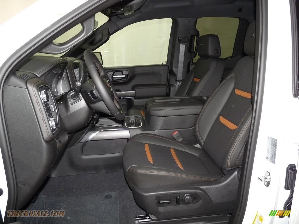 2019 Sierra 1500 AT4 Double Cab 4WD - Summit White / Jet Black photo #6