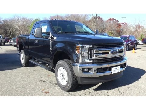 Agate Black 2019 Ford F250 Super Duty XLT SuperCab 4x4
