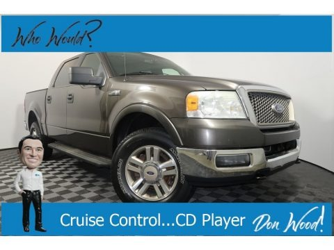 Dark Shadow Grey Metallic 2005 Ford F150 Lariat SuperCrew 4x4