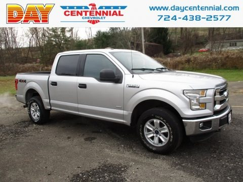 Ingot Silver 2016 Ford F150 XLT SuperCrew 4x4