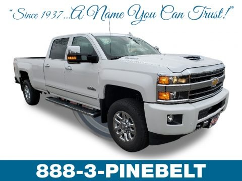 Iridescent Pearl Tricoat 2019 Chevrolet Silverado 3500HD High Country Crew Cab 4x4