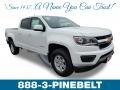 Chevrolet Colorado WT Crew Cab Summit White photo #1