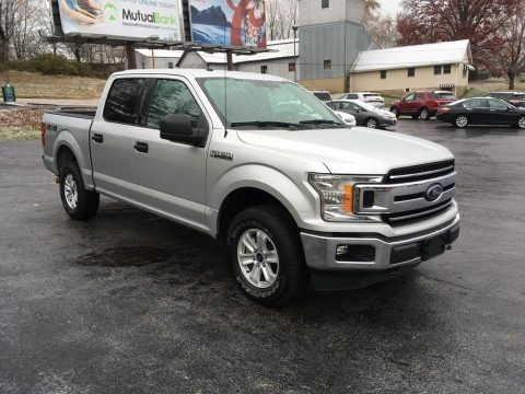 Ingot Silver 2018 Ford F150 XLT SuperCrew 4x4