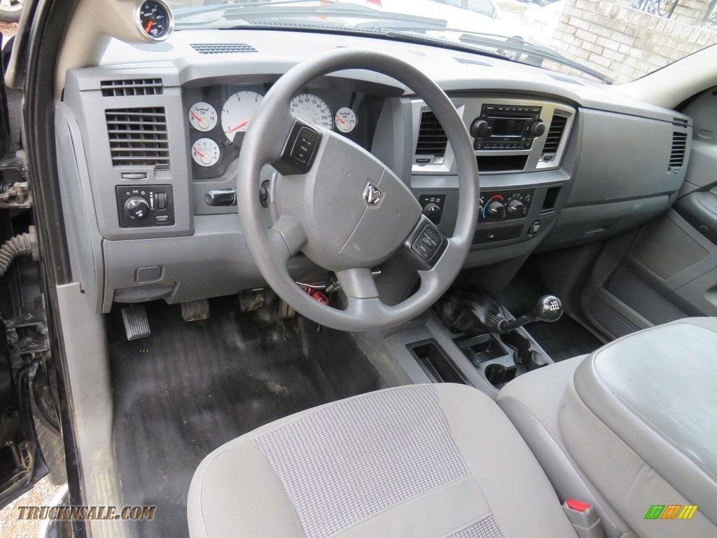 2008 Ram 3500 SLT Quad Cab 4x4 Dually - Brilliant Black Crystal Pearl / Medium Slate Gray photo #18