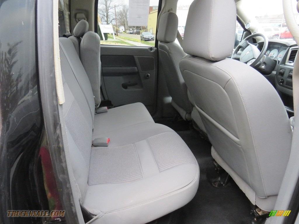 2008 Ram 3500 SLT Quad Cab 4x4 Dually - Brilliant Black Crystal Pearl / Medium Slate Gray photo #24