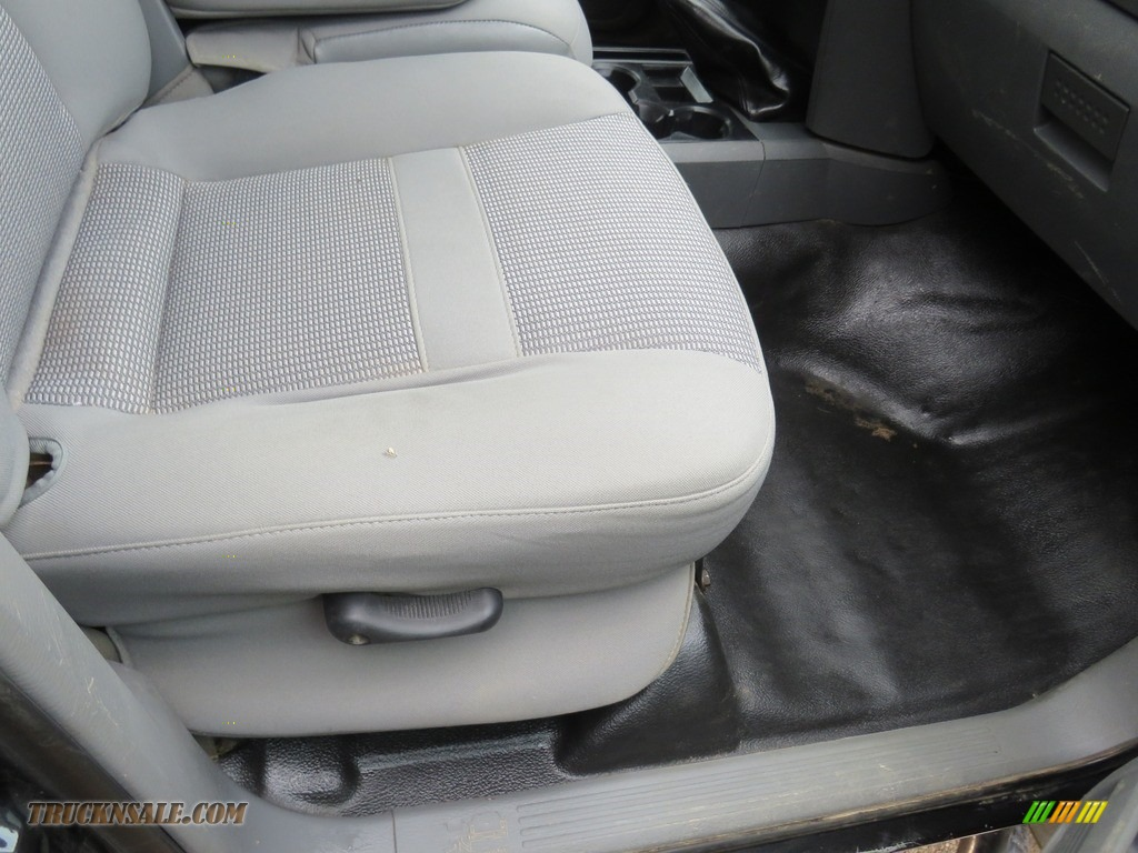 2008 Ram 3500 SLT Quad Cab 4x4 Dually - Brilliant Black Crystal Pearl / Medium Slate Gray photo #26