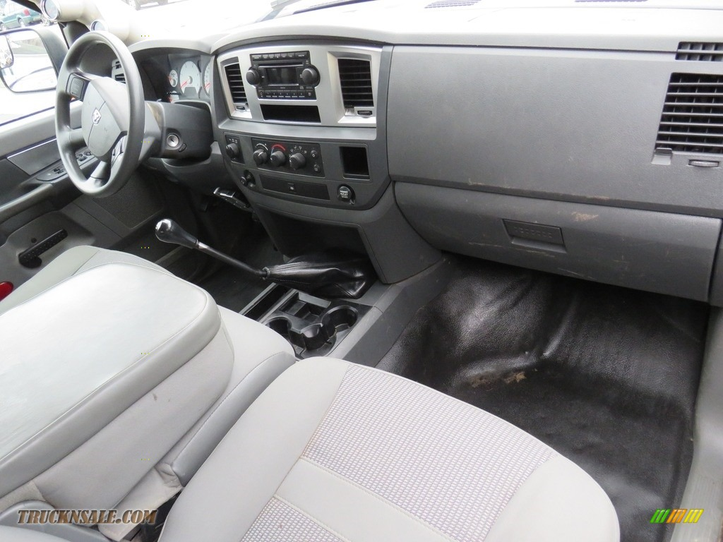 2008 Ram 3500 SLT Quad Cab 4x4 Dually - Brilliant Black Crystal Pearl / Medium Slate Gray photo #27