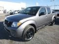 Nissan Frontier Midnight Edition Crew Cab 4x4 Gun Metallic photo #8