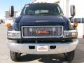 GMC C Series Topkick C5500 Crew Cab 4x4 Chassis Onyx Black photo #2