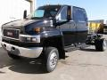 GMC C Series Topkick C5500 Crew Cab 4x4 Chassis Onyx Black photo #3