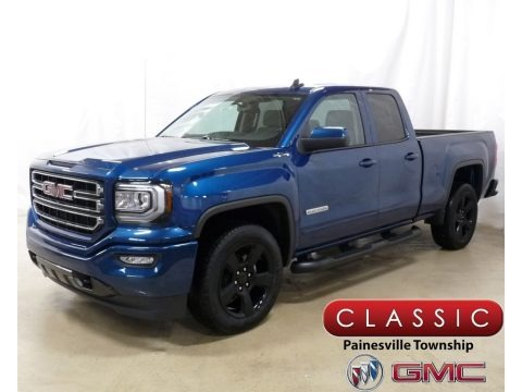 Stone Blue Metallic 2019 GMC Sierra 1500 Limited Elevation Double Cab 4WD