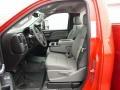 GMC Sierra 3500HD Regular Cab Utility Truck Red photo #8