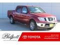 Nissan Frontier SL Crew Cab Cayenne Red photo #1
