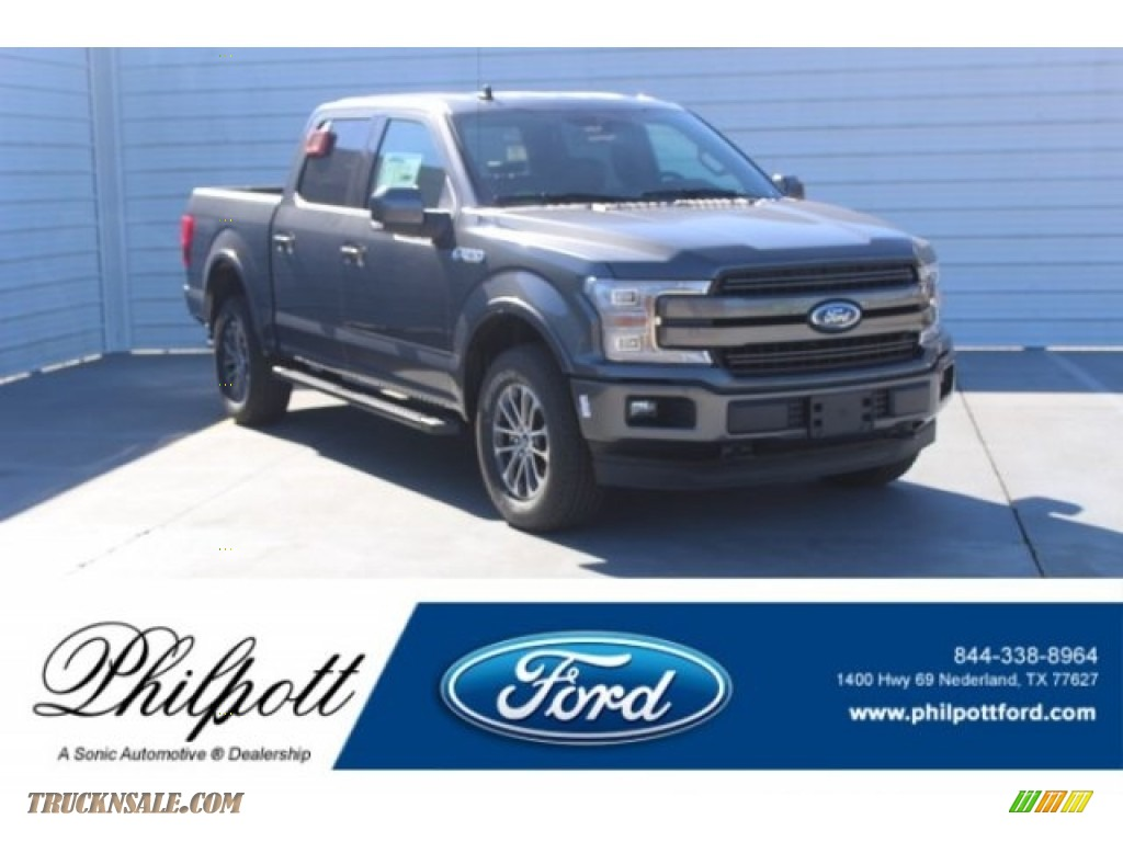 2019 F150 XLT Sport SuperCrew 4x4 - Magnetic / Black photo #1