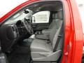 GMC Sierra 3500HD Regular Cab Chassis Red photo #5