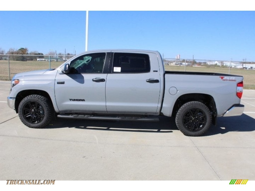 2019 Tundra TSS Off Road CrewMax - Cement / Black photo #6