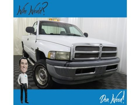 Bright White 2001 Dodge Ram 1500 ST Regular Cab 4x4