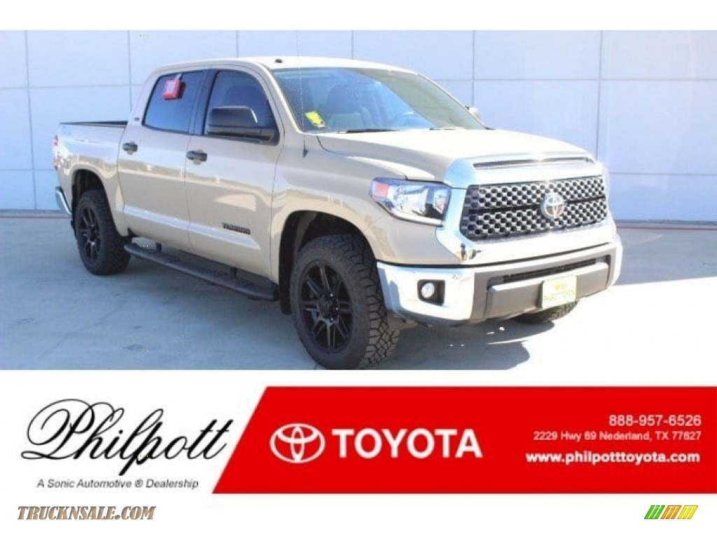 Quicksand / Black Toyota Tundra TSS Off Road CrewMax