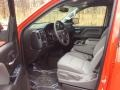 Chevrolet Silverado 1500 Custom Crew Cab 4x4 Red Hot photo #9