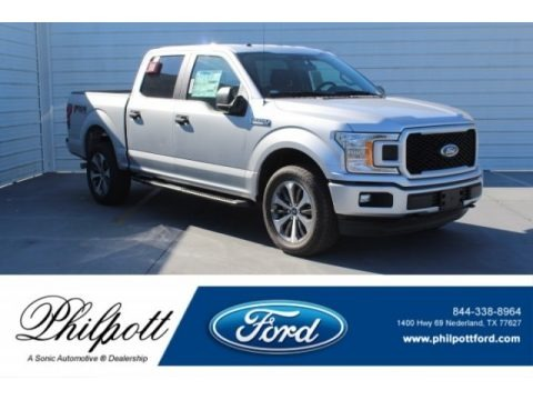 Ingot Silver 2019 Ford F150 XLT SuperCrew 4x4