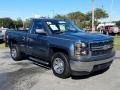 Chevrolet Silverado 1500 WT Regular Cab Blue Granite Metallic photo #7