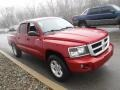 Dodge Dakota Big Horn Crew Cab 4x4 Inferno Red Crystal Pearl photo #8