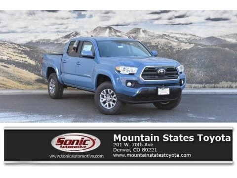Cavalry Blue 2019 Toyota Tacoma SR5 Double Cab 4x4