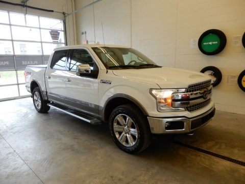 Oxford White 2018 Ford F150 Lariat SuperCrew 4x4