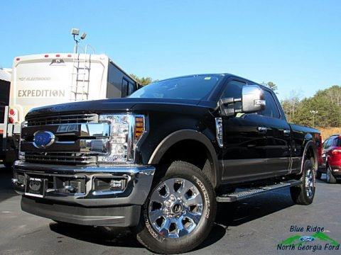 Shadow Black 2018 Ford F250 Super Duty Lariat Crew Cab 4x4