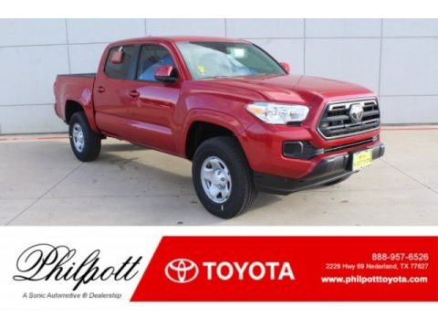 Barcelona Red Metallic 2019 Toyota Tacoma SR Double Cab