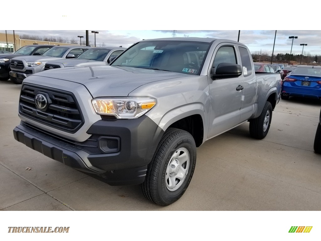 2019 Tacoma SR Double Cab - Silver Sky Metallic / Cement Gray photo #1