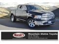 Dodge Ram 1500 Laramie Crew Cab 4x4 Black photo #1