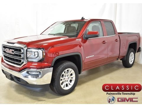 Red Quartz Tintcoat 2019 GMC Sierra 1500 Limited SLE Double Cab 4WD