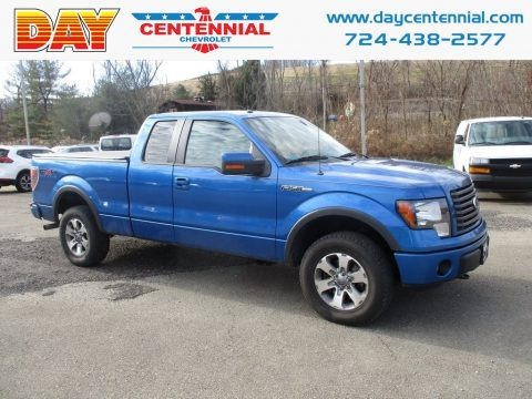 Blue Flame Metallic 2011 Ford F150 FX4 SuperCab 4x4