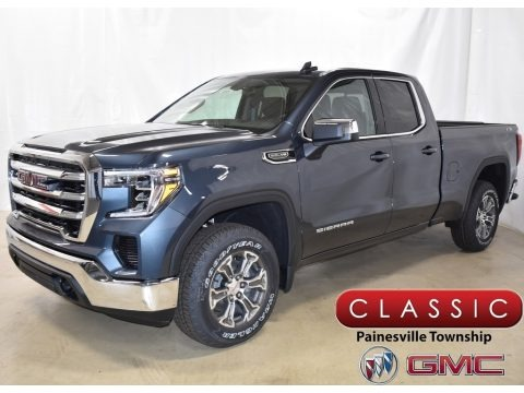Dark Sky Metallic 2019 GMC Sierra 1500 SLE Double Cab 4WD