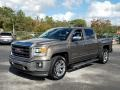 GMC Sierra 1500 SLT Crew Cab Bronze Alloy Metallic photo #1