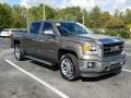 GMC Sierra 1500 SLT Crew Cab Bronze Alloy Metallic photo #7