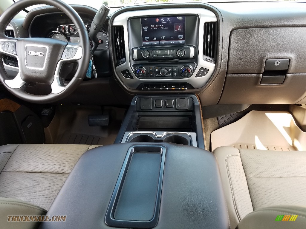 2014 Sierra 1500 SLT Crew Cab - Bronze Alloy Metallic / Cocoa/Dune photo #13