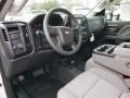 Chevrolet Silverado 3500HD Work Truck Crew Cab 4x4 Chassis Summit White photo #7
