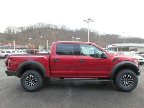 Ruby Red 2019 Ford F150 SVT Raptor SuperCrew 4x4