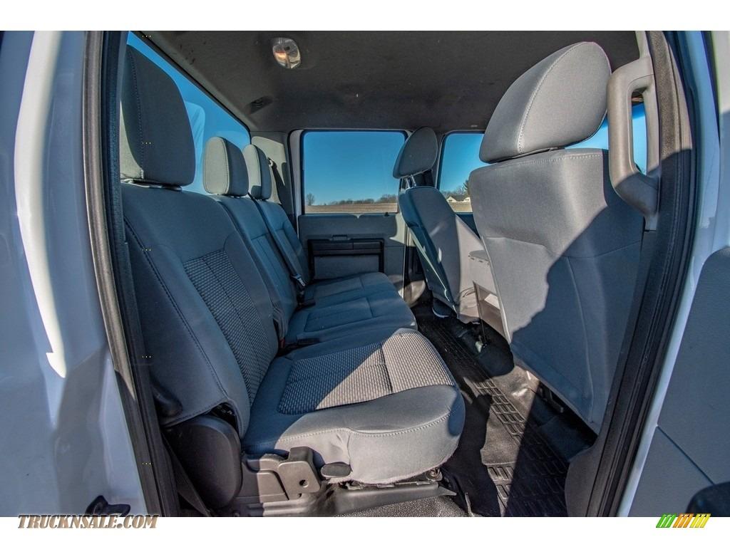 2015 F250 Super Duty XL Crew Cab 4x4 - Oxford White / Steel photo #28