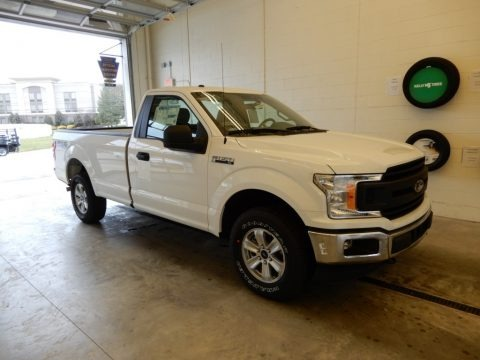 Oxford White 2019 Ford F150 XL Regular Cab 4x4