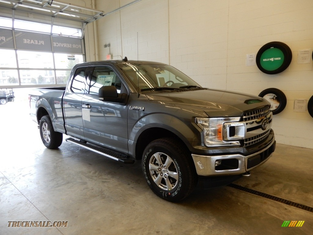 2019 F150 XLT SuperCab 4x4 - Magnetic / Earth Gray photo #1