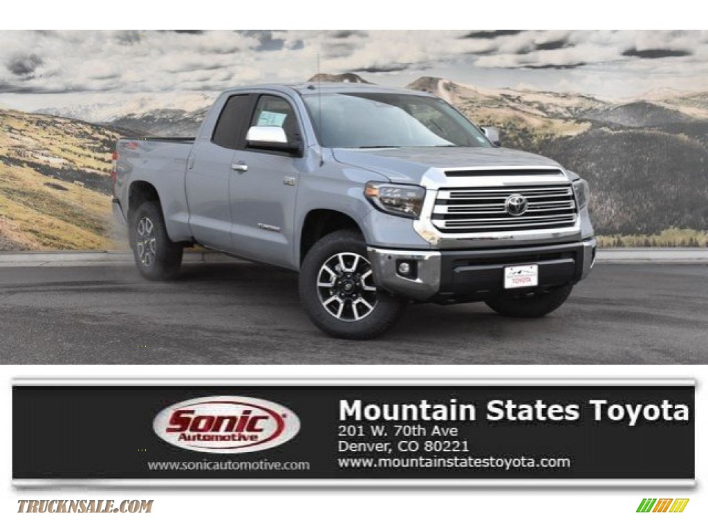2019 Tundra Limited Double Cab 4x4 - Cement / Black photo #1