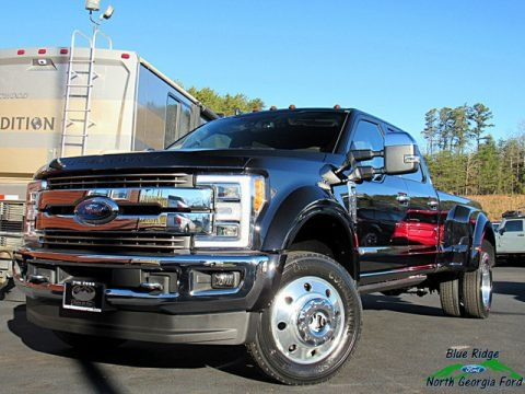 Agate Black 2019 Ford F450 Super Duty King Ranch Crew Cab 4x4