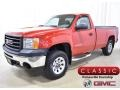 GMC Sierra 1500 Regular Cab 4x4 Fire Red photo #1